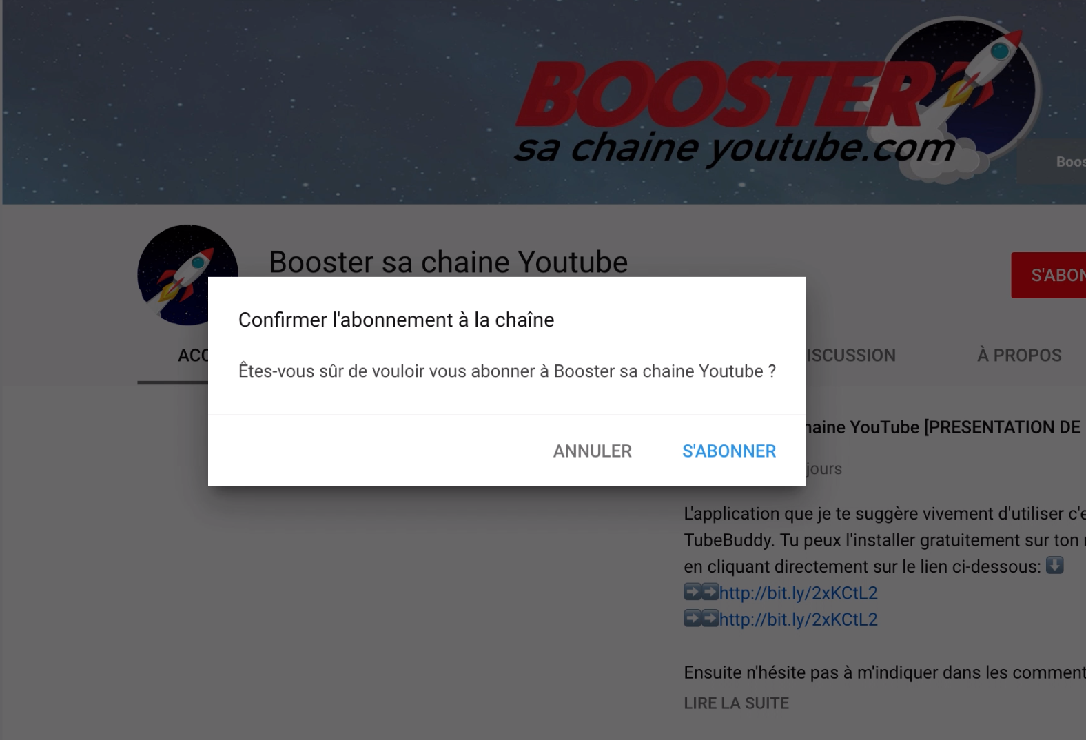 boost abonnes youtube