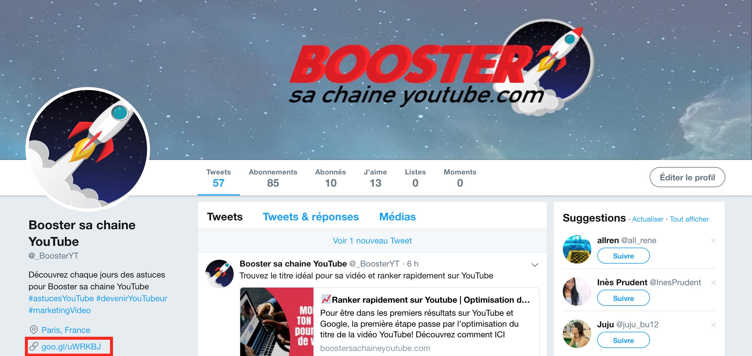 avoir 1000 abonnés youtube