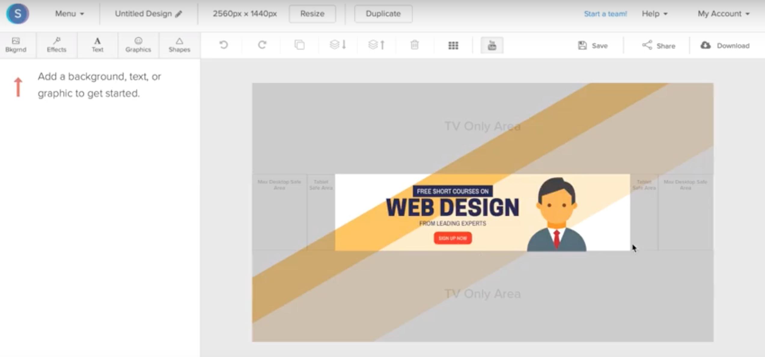 creer illustration YouTube en ligne