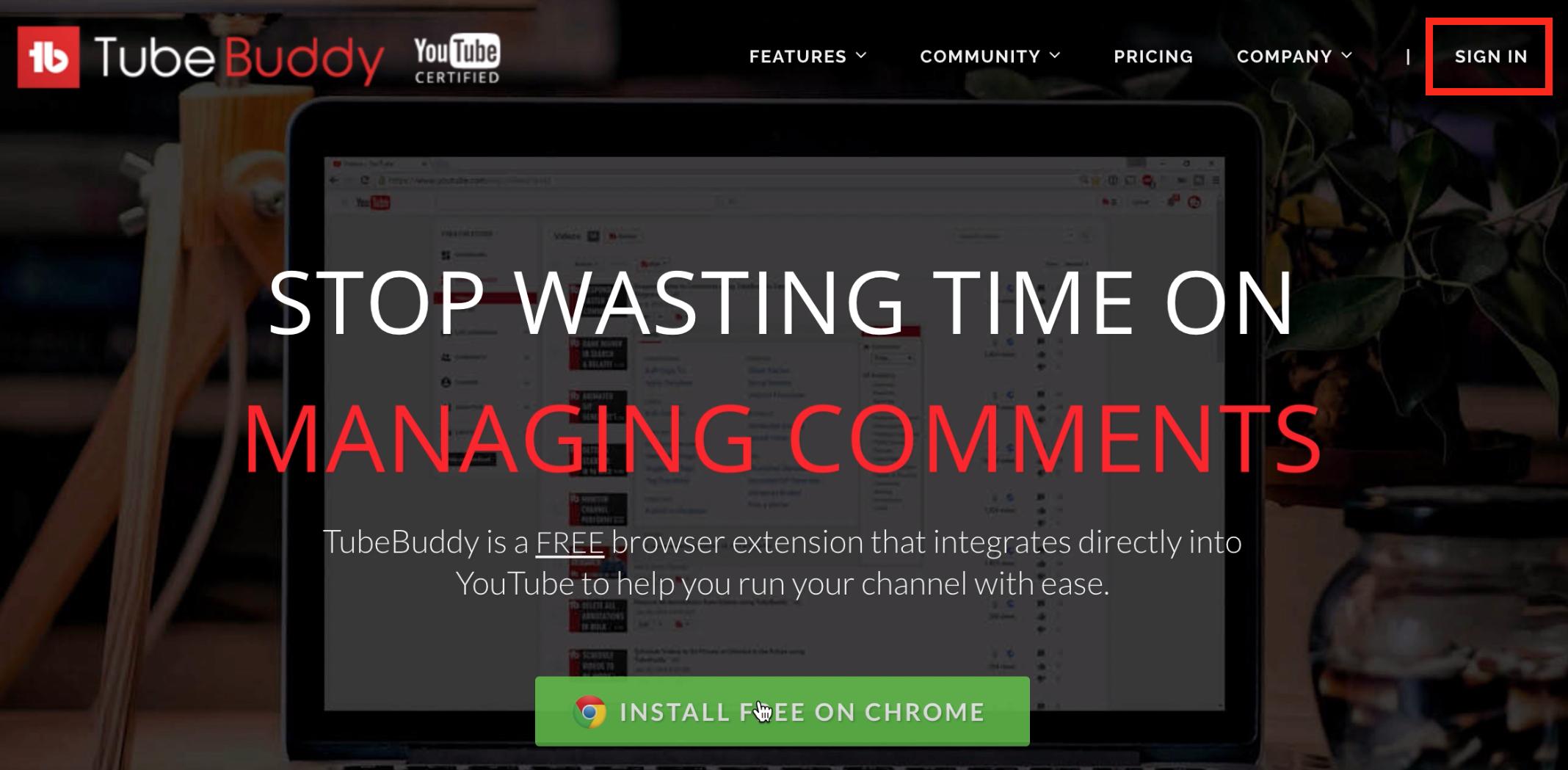 utiliser Tubebuddy pour avoir plus d abonnes YouTube