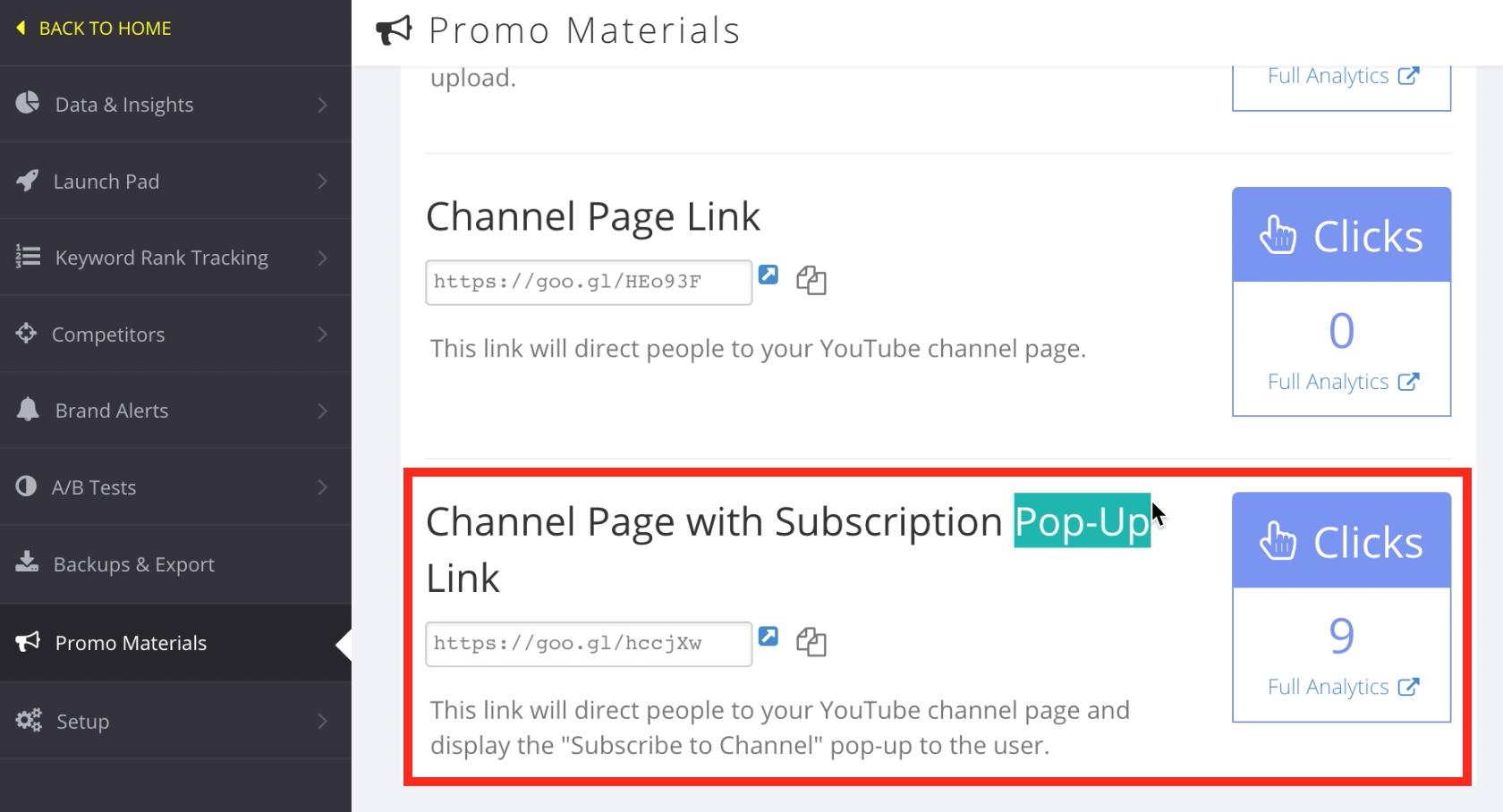application pour avoir plus d'abonnés sur youtube